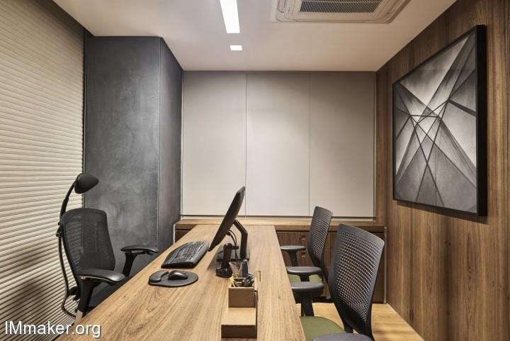 巴西Andrade Miranda律师事务所办公空间设计