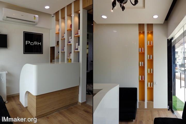 印度POSH豪华沙龙和水疗中心空间设计