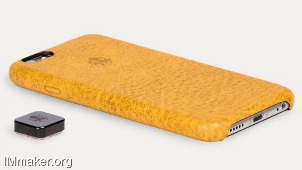 Nodus Shell手机保护壳:能吸附到任何物体表面