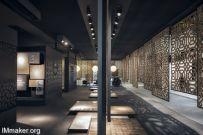 Paolo Cesaretti设计的意大利Bologna皇家陶瓷馆展厅空间