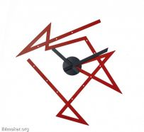 Daniel Libeskind设计的迷宫时钟Time Maze Clock