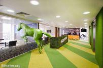 英国伦敦Paddy Power公司办公空间创意设计