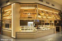Span Design设计的澳大利亚Taka Sushi寿司店空间
