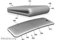 专利显示三星正研发可折叠的柔性屏手机