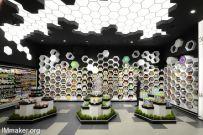 保加利亚FANTASTIKO超市空间创意设计