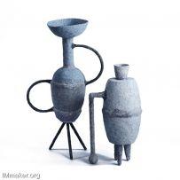 Ben Branagan设计的考古学花瓶Monuments