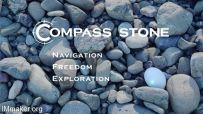 Compass Stone:可指路、显示时间的智能导航石