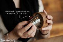 简单方便的磁盖茶杯