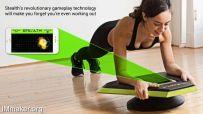 Stealth平衡板:在游戏中不知不觉锻炼出八块腹肌