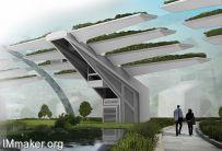 Jonas Di Lorenzo设计: 自给自足的城市生态农业