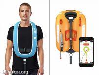 Mats Lonngren设计的Ahti X1智能救生衣