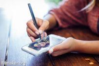 可绘画自拍的Snap手写笔,满足你的所有手写需求