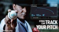 Strike智能棒球:投球水平高不高,一试便知道
