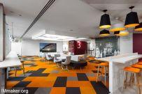 Sainsbury's Central伦敦总部灵活的办公空间设计