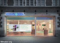 Pinkeye设计工作室设计的Triodos银行分行空间