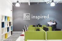 英国旧厂房改造的Beatus Cartons办公空间设计