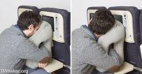 便携式充气旅行枕Woollip创意设计