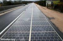 法国建造了一条太阳能发电道路,一公里造价3610万元