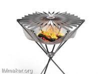 便携折叠式烧烤架