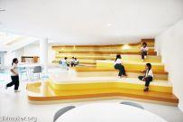 阿布扎比The Sheikh Zayed Academy私立学校空间设计