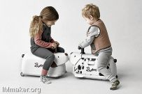 儿童行李箱Bontoy Traveller创意设计
