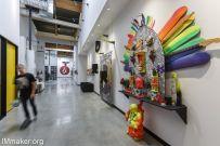 冲浪滑板极限服饰品牌Volcom办公空间创意设计