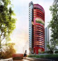 新加坡豪华住宅公寓Ferra