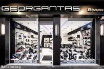 希腊雅典Georgantas时尚鞋店内饰创意设计