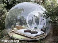 透明气泡帐篷