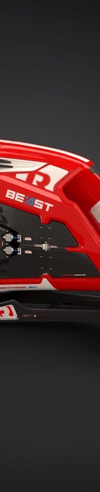 Beast飞行摩托车概念,能悬停空中