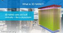 国产将有32层3D NAND闪存,虽然三星快100层了