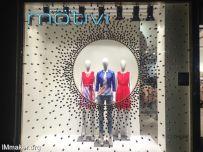 意大利Motivi软木塞灵感的橱窗创意设计