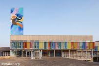法国格鲁普公立学校建筑空间创意设计