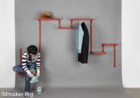 无限延长的走廊家具