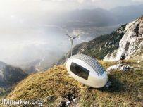 再生能源移动小屋