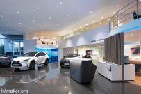 ARNO设计的欧洲Lexus雷克萨斯汽车展厅空间