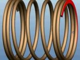 在Creo Elements/Pro 5.0中使用螺旋扫描创建可变节距弹簧 [ProE视频教程]