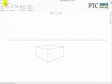 如何在透视图中草绘曲线 [Creo Sketch 1.0视频教程]
