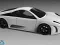 法拉利跑车3D模型,X-CAR,纯proe建模,带步骤(附渲染)