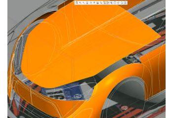 Creo样式工具教程 - 汽车引擎盖
