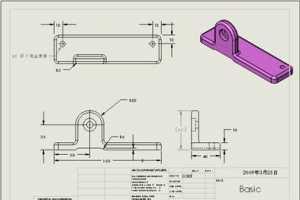 [SolidWorks基础建模] 11.工程图制作