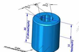 [SolidWorks基础建模] 12.系列零件设计表与方程式