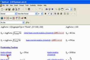 Mathcad 15.0 抗载计算范例演示视频