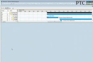Navigating Windchill 10 Project Plans [Windchill ProjectLink 9.1 视频教程]