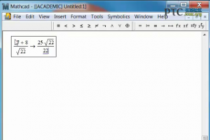 A Brief Lesson in Numerical Equality with Mathcad 15.0 [Mathcad 15.0 视频教程]
