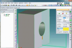从 DXF 绘图创建模型 [Creo Elements/Direct 视频教程]