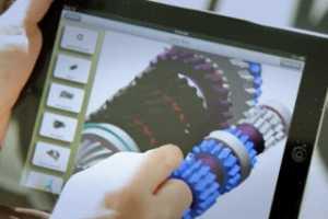Creo View 在 iPad 上的快速移动浏览模型演示 [Creo View 视频教程]