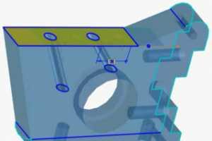 Creo Direct通过拉伸边和拉伸面修改 3D时保持相切 [Creo Elements/Direct视频教程]