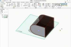 Creo Direct创建从属常规视图 [Creo Elements/Direct视频教程]