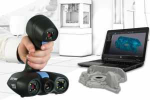 Creaform为3D打印推出完美3D扫描解决方案 Go!SCAN 3D扫描仪搭配VXmodel 3D扫描打印软件 ...